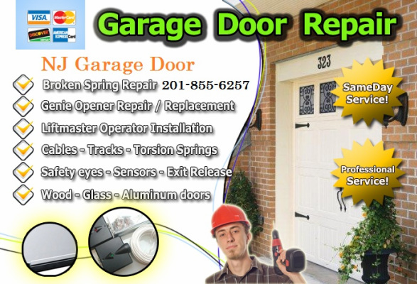 Nj Garage Door New Jersey Gates Installation Repair